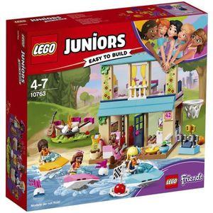 ASSEMBLAGE CONSTRUCTION LEGO® Juniors 10763 La maison au bord du lac de St