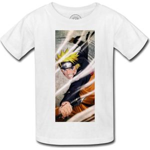 T-SHIRT T-shirt enfant uzumaki naruto ninja kunai manga