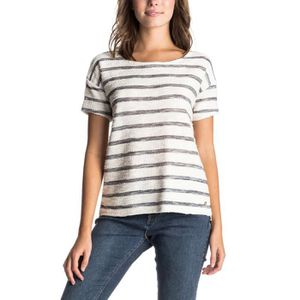 T-SHIRT ROXY Adelaide T-Shirt Mc Femme - Taille S - BLANC
