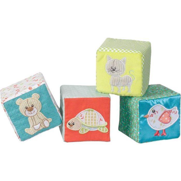 SOPHIE LA GIRAFE Cubes d'éveil