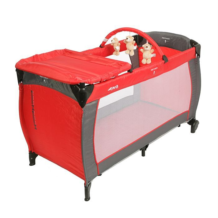hauck lit parapluie baby center h red h red achat vente lit pliant 4007923607763 cdiscount. Black Bedroom Furniture Sets. Home Design Ideas