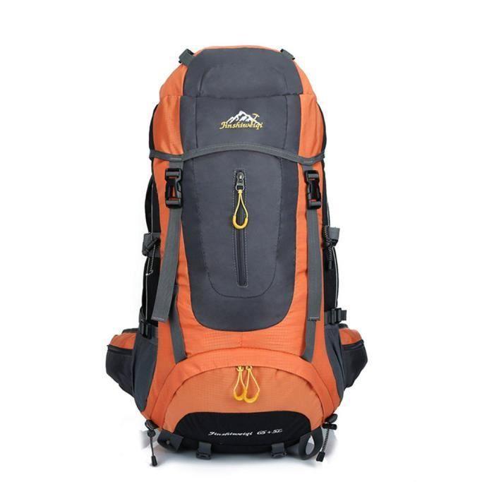 Voyage extérieur imperméable de voyage de sport sac à dos de sac à dos de sac à dos de camping 60L@568