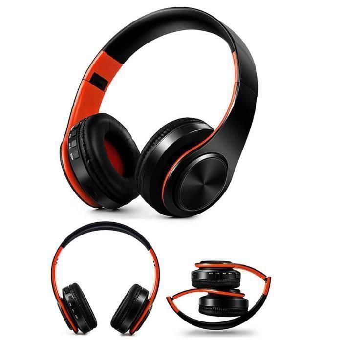 CS Casque Bluetooth sans fil Hi-Fi Stéréo casque sans fil avec micro B - CSTNS903A6742