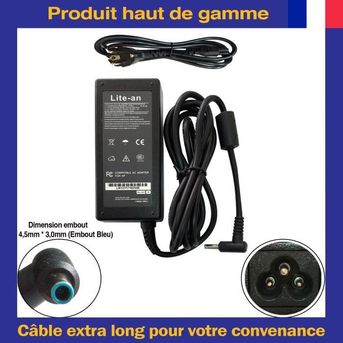 Chargeur Pour HP Pavilion Envy Beats Audio Ordinateur PC Portable - Adaptateur d'Alimentation 65W 19.5V 3.33A
