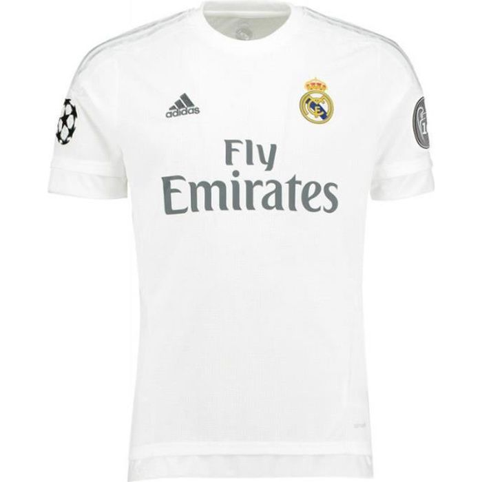 REAL H JSY Y UC BLC - Maillot Football Real Madrid Garçon Adidas