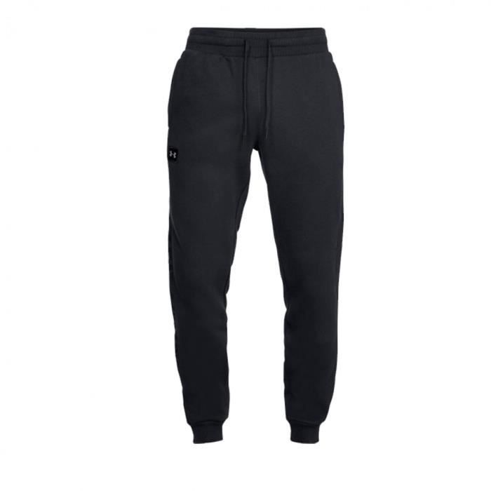 Pantalon de survêtement Under Armour RIVAL FLEECE SCRIPT JOGGER - Ref. 1322030-001