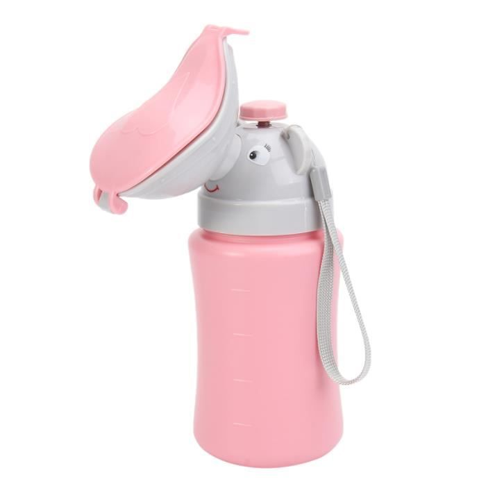 1 pc voiture urinoir voyage dessin animé Portable pratique bouteille outil pot toilette BASSIN DE LIT - URINAL - CHAISE PERCEE
