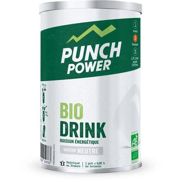 PUNCH POWER Biodrink Neutre - Pot 500 g