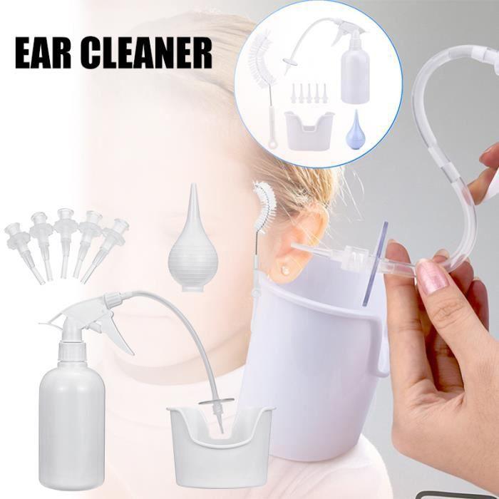 Kit de lavage d'oreille Kit de nettoyage d'oreille pratique Outil de Nettoyage d'Oreille pour le ménage
