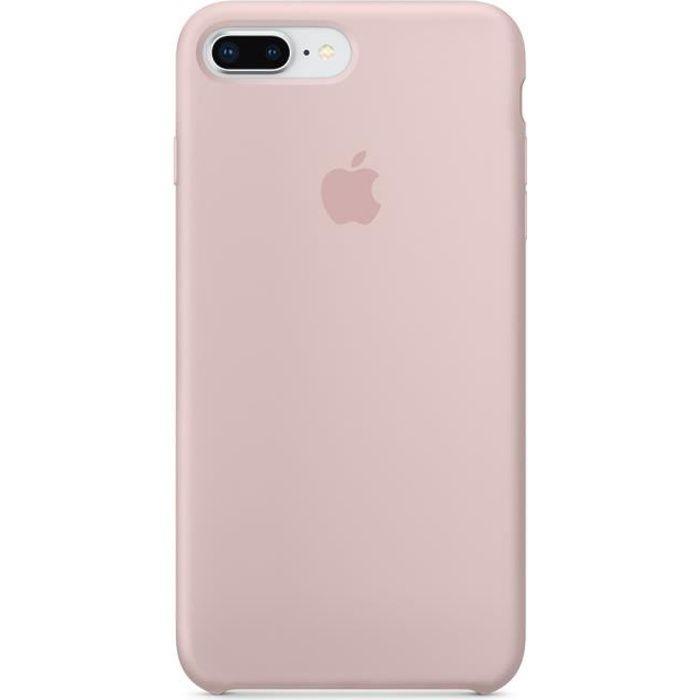 apple coque en silicone pour iphone 7 plus 8 plu