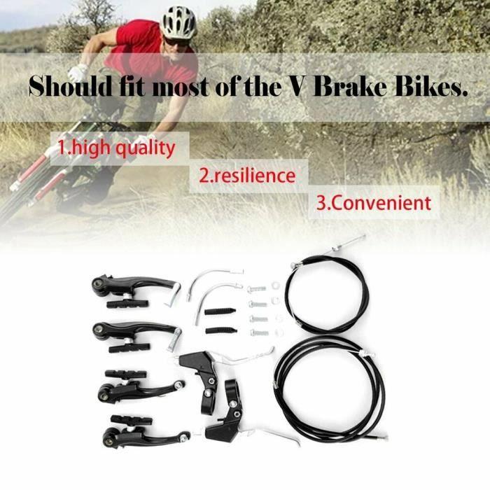 4 Pads PROMAX Route Course Vélo étrier De Frein Blocs Patins Chaussures 54 mm 2 Paires