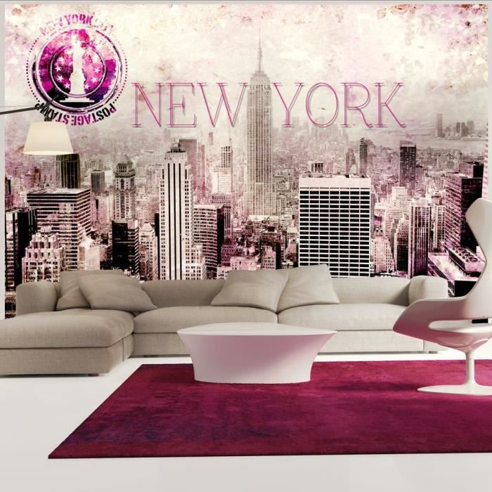 Papier peint intiss new york 300x210 cm 6 l s achat for Papier peint new york castorama