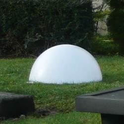 1 2 boule lumineuse filaire blanche achat vente for Boules lumineuses jardin