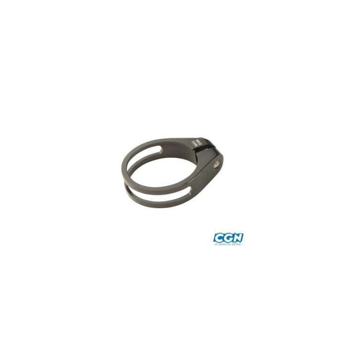 Collier tige de selle route d31.8 mm noir alu 6061 Accessoire Vélo