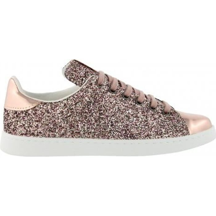 150910805e28d Chaussures Deportivo Basket Glitter Rosa - Victoria Rose Rose ...