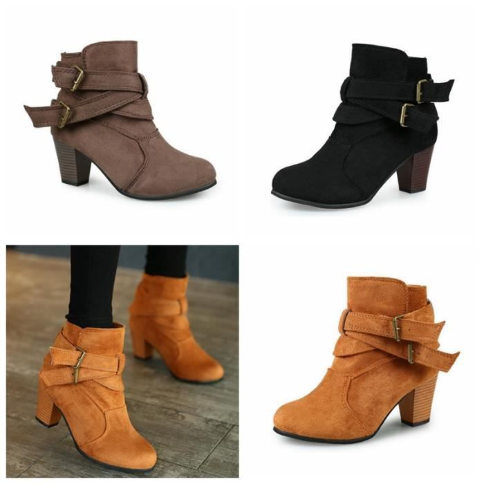 Bottines & low boots à talons ELITE nubuck beige 37 GqkRrRae