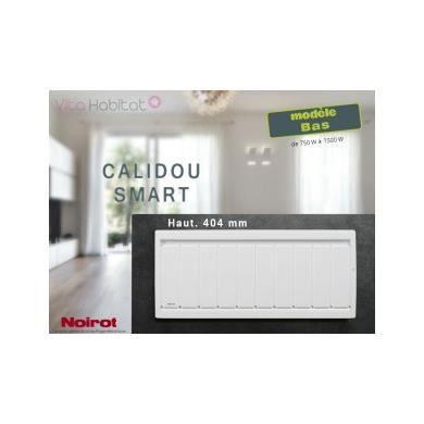 RADIATEUR ÉLECTRIQUE Radiateur Noirot CALIDOU Smart Bas - 1500W - N2…