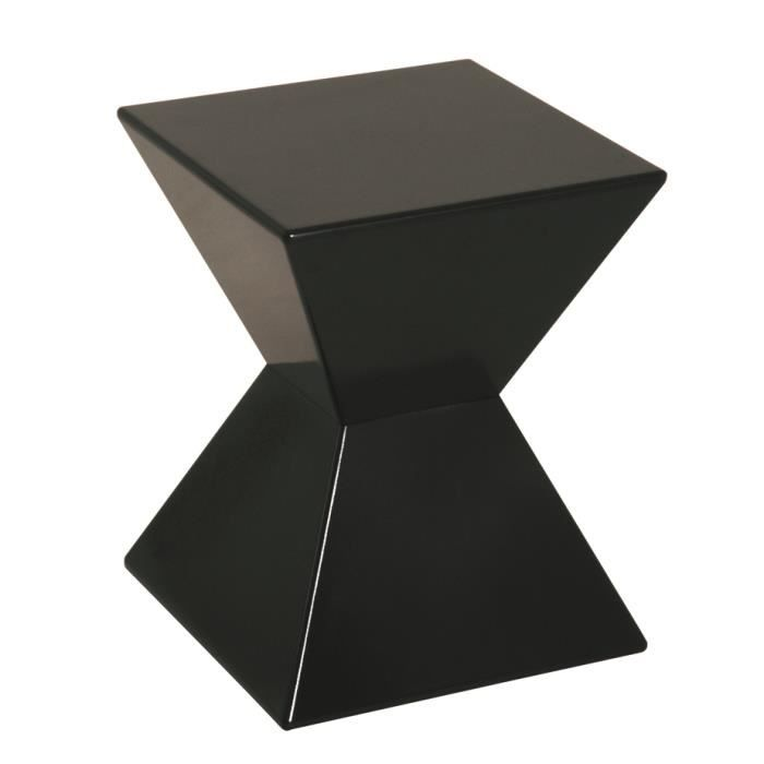 table d 39 appoint en moulage plastique coloris n achat vente table d 39 appoint table d 39 appoint. Black Bedroom Furniture Sets. Home Design Ideas