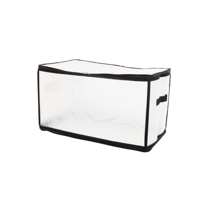 Boite De Rangement Pliable Transparente Achat Vente Boite De Rangement Cdiscount