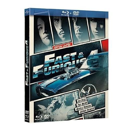blu ray dvd fast and furious 4 edition limit e en blu ray film pas cher cdiscount. Black Bedroom Furniture Sets. Home Design Ideas