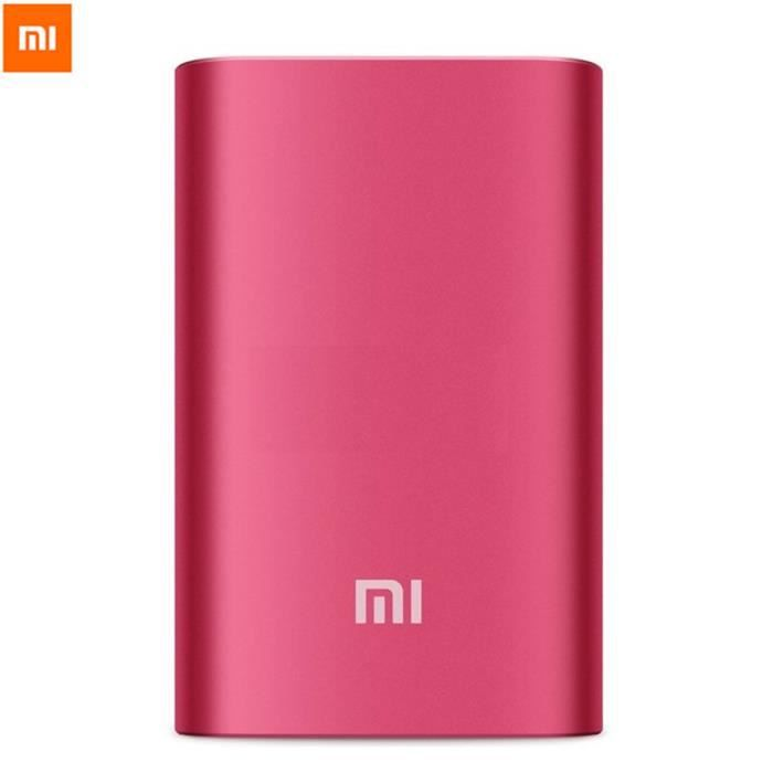 10000mah original xiaomi batterie externe portable chargeur power bank pour iphone ipad samsung. Black Bedroom Furniture Sets. Home Design Ideas