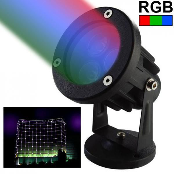 projecteur ext rieur led spot lumineux rgb vert achat vente projecteur ext rieur. Black Bedroom Furniture Sets. Home Design Ideas