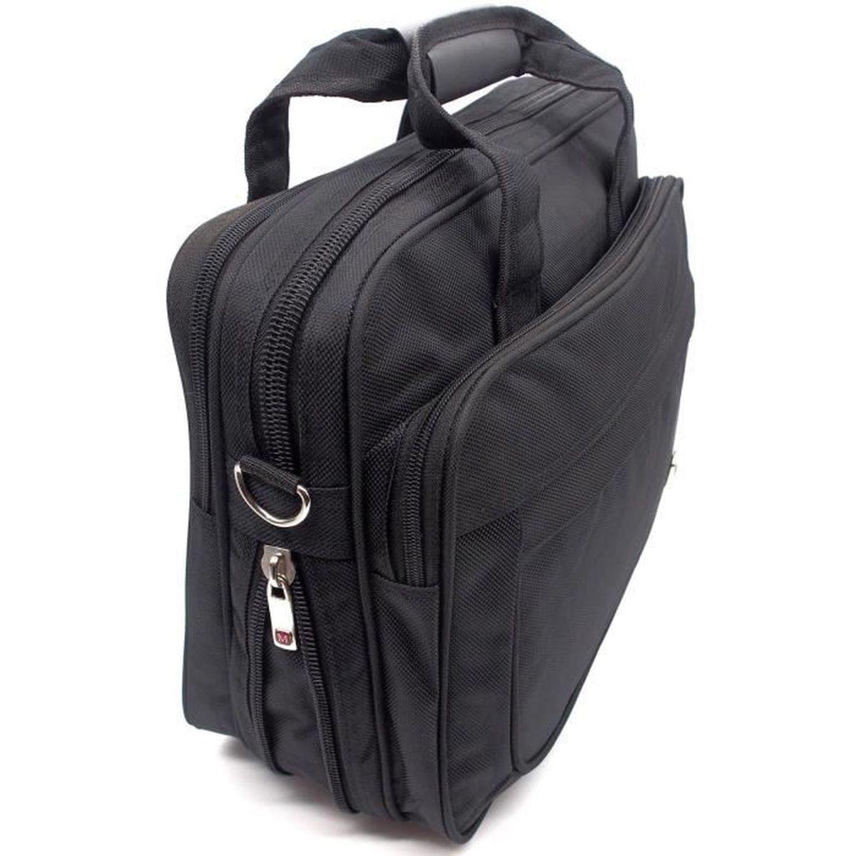 CARTABLE Housse sac bandoulière sacoche cartable ordinateur