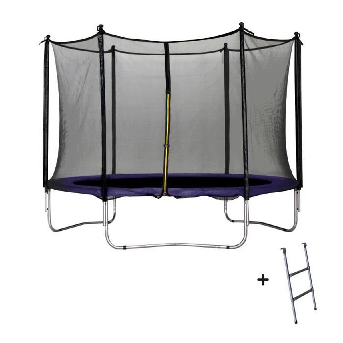 trampoline violet 305 cm achat vente trampoline cdiscount. Black Bedroom Furniture Sets. Home Design Ideas