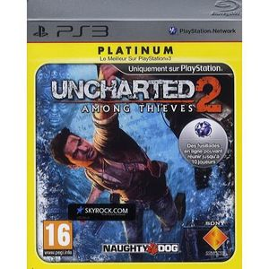 JEU PS3 UNCHARTED 2 : Among Thieves Platinum / JEU CONSOLE
