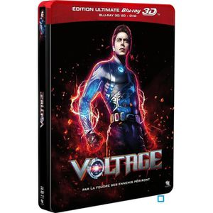 BLU-RAY FILM VOLTAGE - COMBO BLU-RAY 3D + DVD