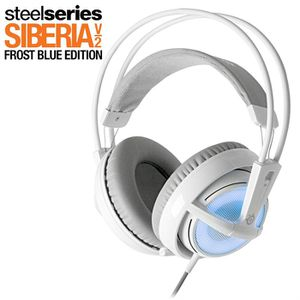 CASQUE  - MICROPHONE Steelseries Siberia v2 Frost Blue Edition - PC