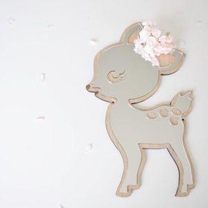 Acrylique Animal Nouveauté lapin Miroir Acrylique Perspex cadeau résistant aux chocs