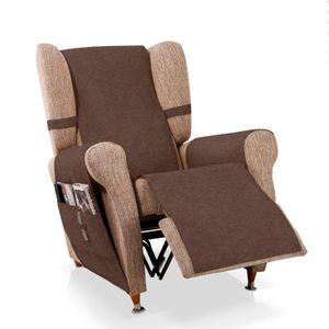 HOUSSE DE FAUTEUIL Couvre-fauteuil relax Blasca, Taille 1 place (55cm