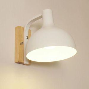 APPLIQUE  Blanc Moderne Chambre En Bois Applique Murale Coul