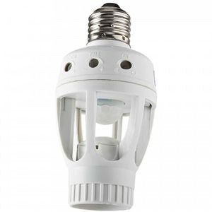 DOUILLE Douille pour ampoule E27 avec detecteur de presenc