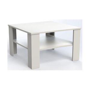 TABLE BASSE PROMEZIA | Table basse carrée style contemporaine