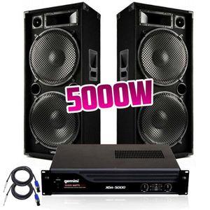 PACK SONO Pack Sonorisation pour Prestations - Enceintes 200