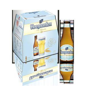 BIÈRE HOEGAARDEN Bière blanche Bouteille Alc. 4,9% vol.
