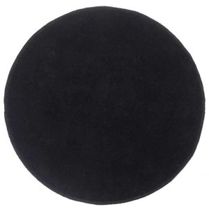 tapis rond noir. Black Bedroom Furniture Sets. Home Design Ideas