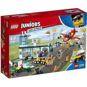 ASSEMBLAGE CONSTRUCTION LEGO® Juniors City 10764  L'Aéroport City Central