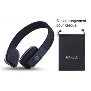 OREILLETTE BLUETOOTH Casque Bluetooth, Bluetooth 4.1 Marsee High Fideli