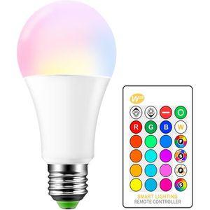 AMPOULE - LED Ampoule LED E27 RGBW 15W Lampe Couleur Changement