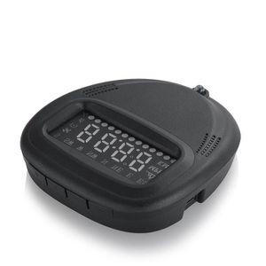 AFFICHAGE PARE-BRISE Head UP HUD GPS Affichage de l'heure Luminosité Té