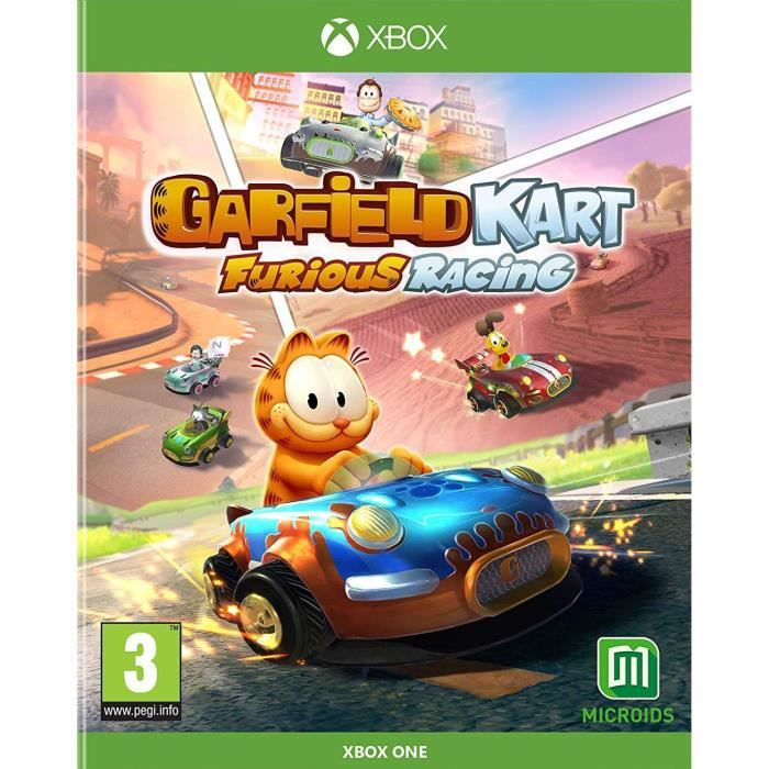 Garfield Kart Furious Racing Jeu Xbox One