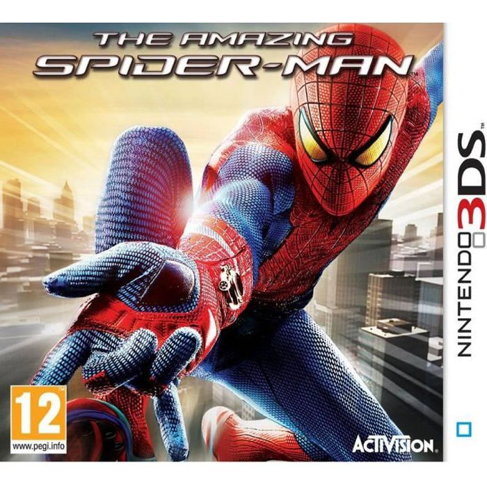 the amazing spider man jeu console 3ds achat vente jeu 3ds the amazing spider man 3ds. Black Bedroom Furniture Sets. Home Design Ideas