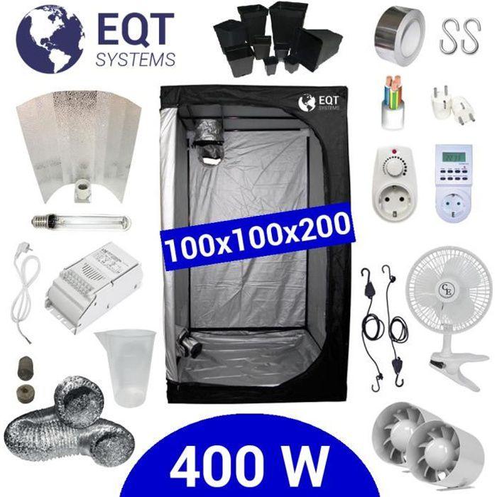 Pack Tente 400W 100x100 - ETI + Supacrop