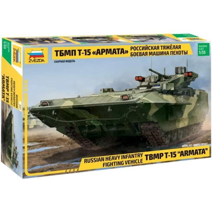 Kits de modélisme de chars d'assaut Zvezda 3681 500783681-1:35 T-15 TBMP Armata Russ.Heavy Infant, modélisme, Constructi 227946