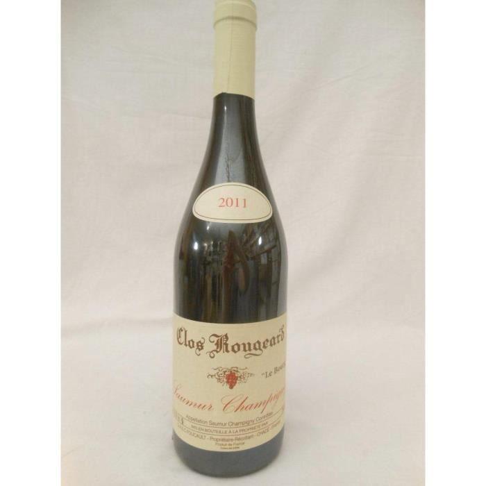 saumur-champigny clos rougeard le bourg rouge 2011 - loire - anjou france