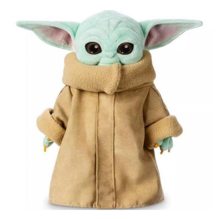 25 cm Star Wars Master Yoda bébé en peluche bébé Yoda peluche poupée jouet