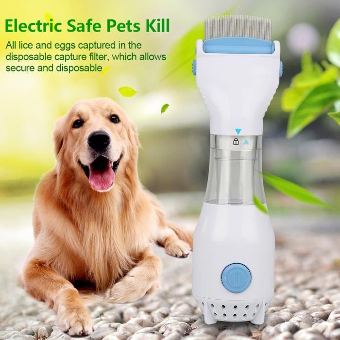 Peigne nettoyeur de puces pour animaux de compagnie Nettoyage Électrique domestique nécessité quotidienne
